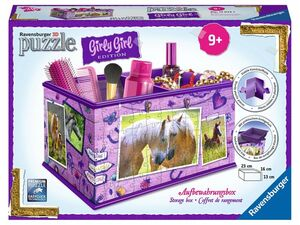 Ravensburger 3D Puzzle Girly Edition Box Pferde