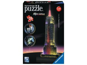 Ravensburger 3D Puzzle Empire State Building bei Nacht