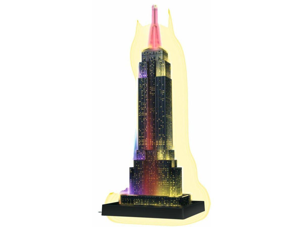 Bild 3 von Ravensburger 3D Puzzle Empire State Building bei Nacht