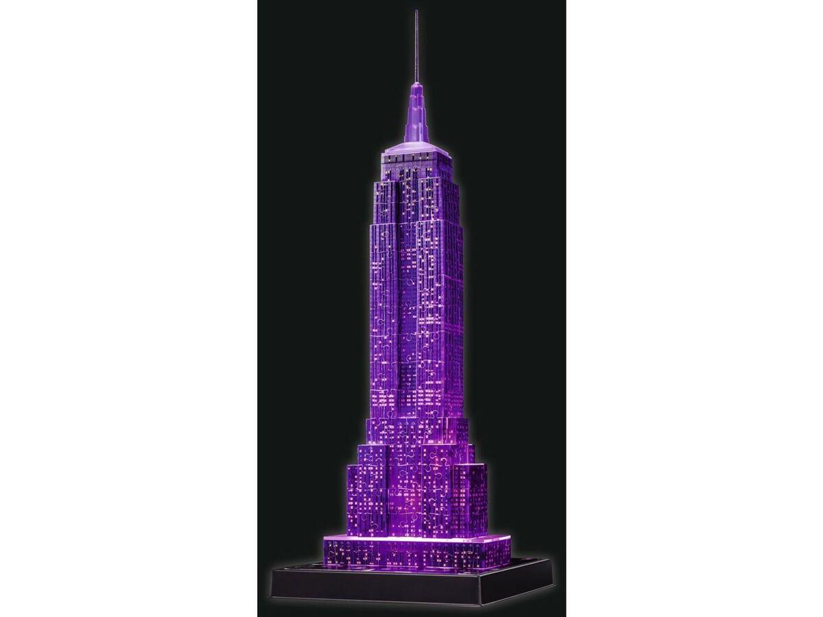 Bild 4 von Ravensburger 3D Puzzle Empire State Building bei Nacht