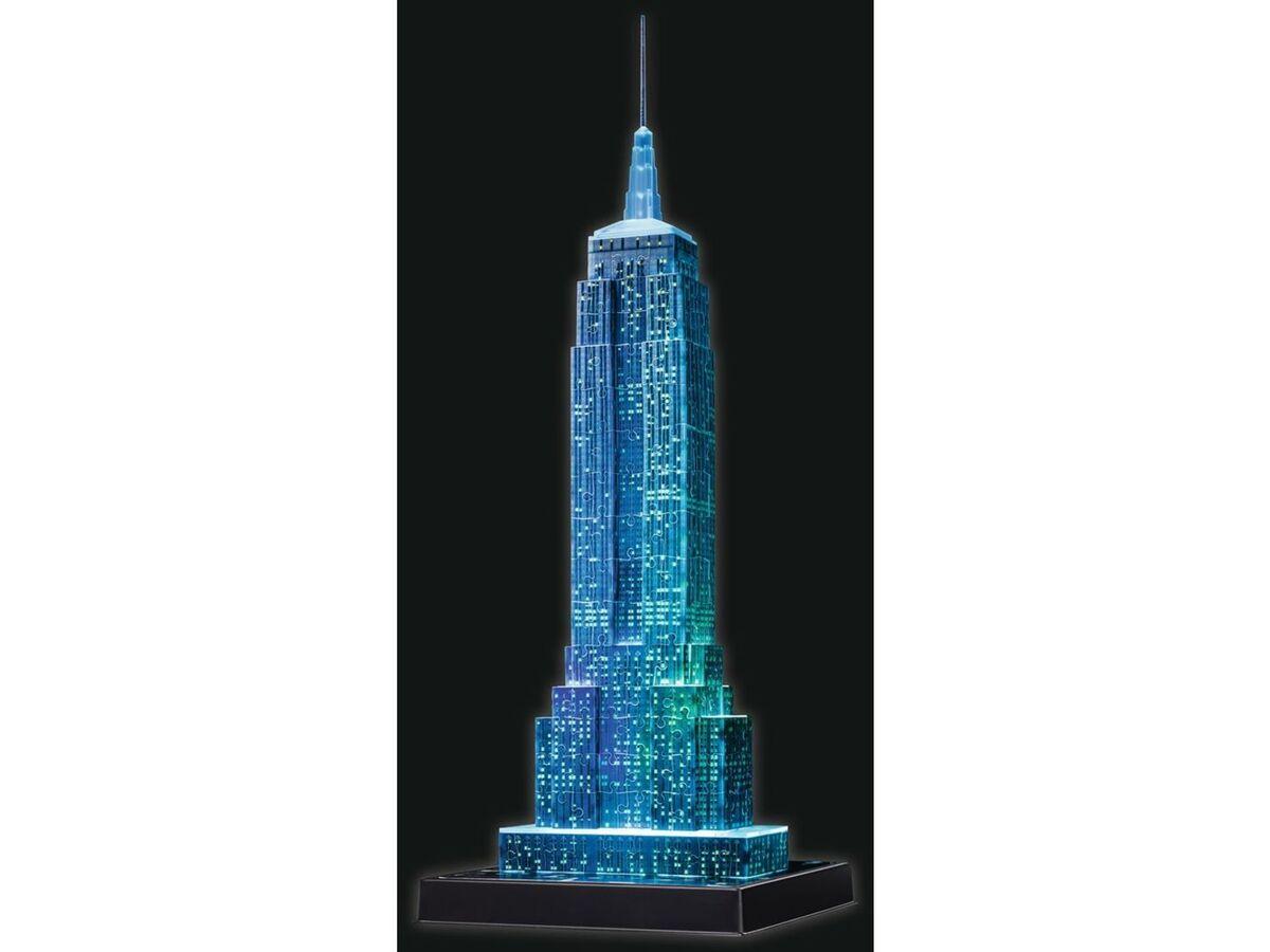 Bild 5 von Ravensburger 3D Puzzle Empire State Building bei Nacht