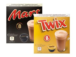 Mars/Twix/Milky Way Hot Chocolate Pods