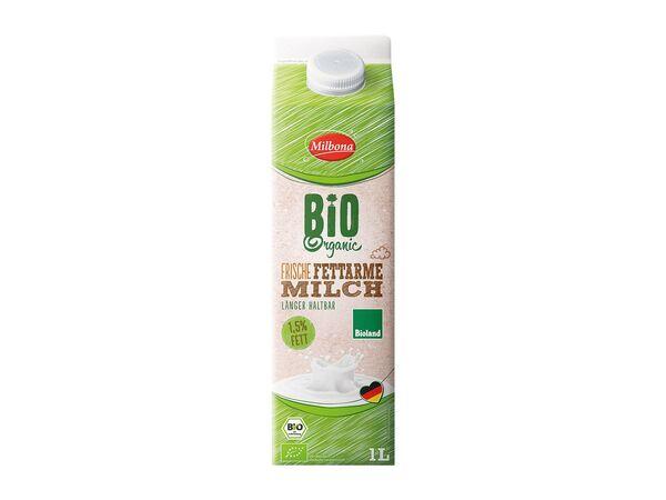 Bioland frische fettarme Milch