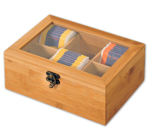 KESPER Teebox, mit 6 Fächern