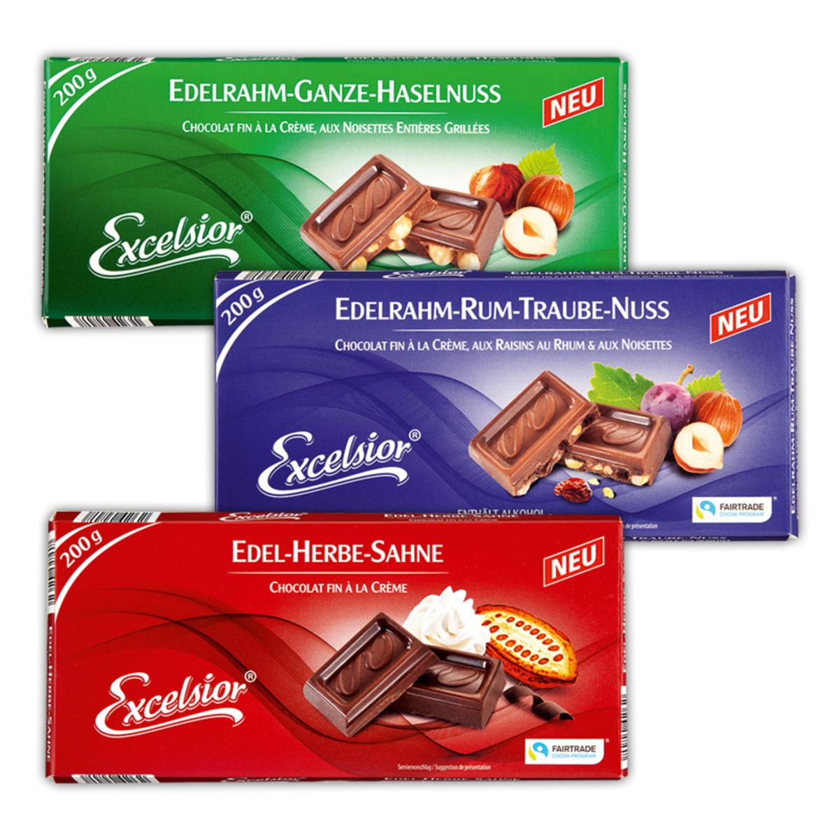 Bild 1 von Excelsior Edel-Nuss Schokolade