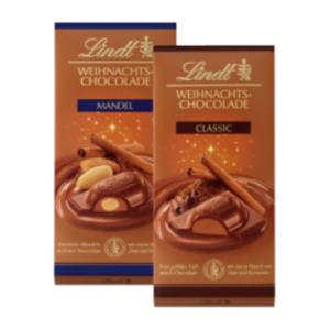 Lindt Weihnachts-Chocolade