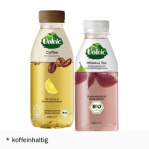 Volvic Bio Coffee oder Bio Tee