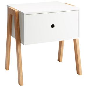 Nachttisch Kettinge (weiß)