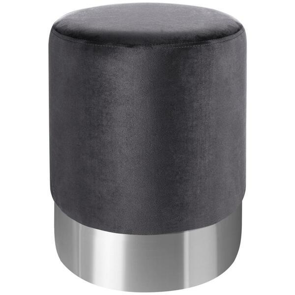 Xora Hocker Samt Grau Silber Von Xxxlutz Fur 35 17 Ansehen