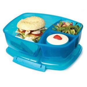 Lunchbox Triple Split, sortiert