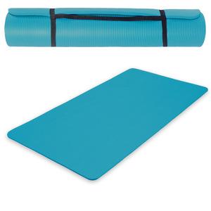 Yogamatte aus Schaumstoff blau 185 x 80 x 1,5 cm