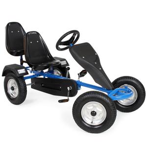 Go-Kart 2-Sitzer blau