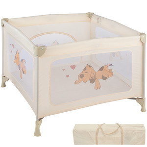 Baby Laufstall Tommy Junior beige