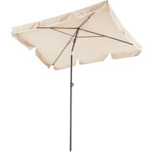 Sonnenschirm 200x125cm beige