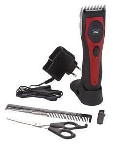 Akku-Haar- und Bartschneide-Set, HC030N, Metallic-Rot  Mia