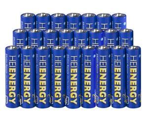 Micro (AAA) Alkaline Batterie - 24 er Pack Heitech