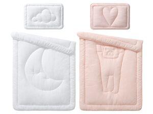 MERADISO® Kleinkinder Bettenset Decke, 100 x 135 cm & Kissen, 40 x 60 cm