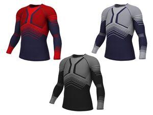 CRIVIT®PRO Herren Seamless-Ski-Funktionsunterhemd