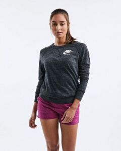 Nike SPORTSWEAR GYM VINTAGE CREW LONGSLEEVE SHIRT - Damen