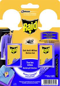 Raid Motten-Gel Lavendel-Duft 2 Stück