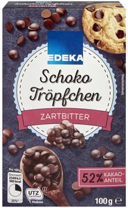 EDEKA Schokotröpfchen zartbitter 100 g