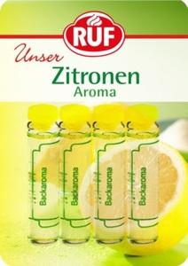 Ruf Zitronen Aroma 4x 2 ml