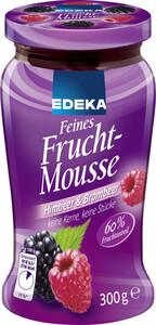 EDEKA Feines Fruchtmousse Himbeer & Brombeer 300 g