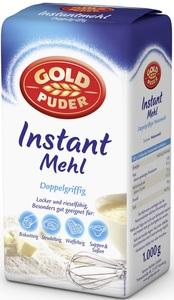 Goldpuder Instant Mehl Doppelgriffig 1 kg