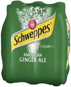 Schweppes American Ginger Ale 6x 0,5 ltr