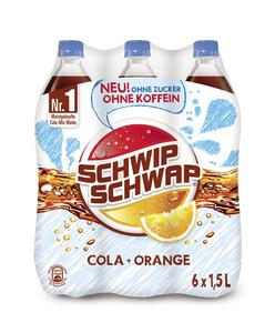 Pepsi Schwip-Schwap ohne Zucker + ohne Koffein PET 6x 1,5 ltr