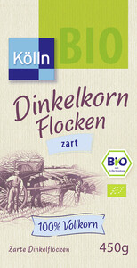 Kölln Bio Dinkelkorn Flocken zart 450 g