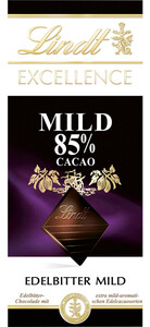 Lindt Excellence Edelbitter Mild 85% Cacao 100 g