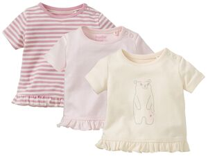 LUPILU® PURE COLLECTION 3 Baby Mädchen T-Shirts