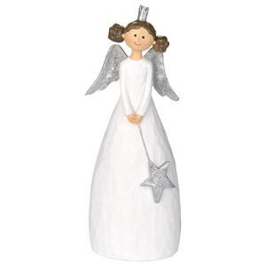 Deko-Figur Engel mit Stern in den Händen