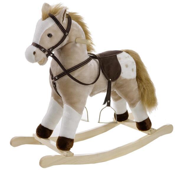 Heunec Schaukel Pferd mit Sound 74 cm