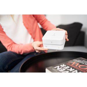 MEDION SmartHome Zentrale (innogy 2. Generation) P85790, innogy und MEDION Smart Home Produkte vernetzbar, einfache Einbindung, sichere Erstanmeldung, Sprachsteuerung