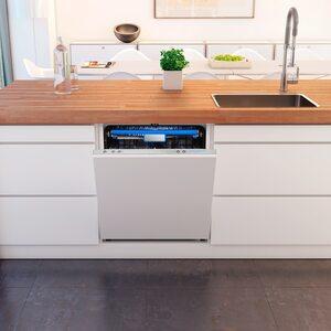 MEDION Geschirrspüler MD 37128, vollintegriert, 8 Reinigungsprogramme, Fassungsvermögen: 14 Maßgedecke, Wasserverbrauch: 10 Liter