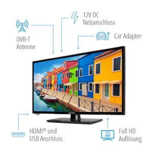 "MEDION LIFE® E12432 LCD-TV, 59,9 cm (23,6"") Full HD Display, HD Triple Tuner, integrierter Mediaplayer, CI+"