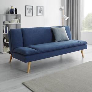 Sofa mit Schlaffunktion in Blau 'Lorenzo'