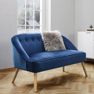Sofa in Blau 'Sophia'