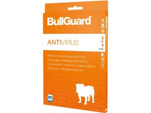 BullGuard Antivirus 1 Jahreslizenz für 1 PC (Windows)