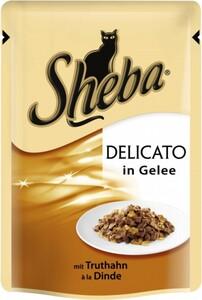 Sheba Katzennassfutter Truthahn in Gelee, 85 g Sheba Delicato ,  85 g