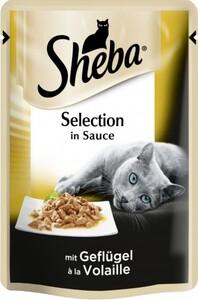 Sheba Katzennassfutter Geflügel in Sauce, 85 g, Sheba Selection ,  85 g
