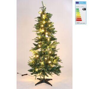 Künstlicher Weihnachtsbaum Deluxe mit 80 LEDs 150cm
