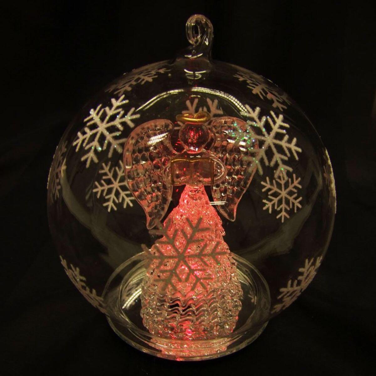Bild 1 von LED-Weihnachtskugel Engel
