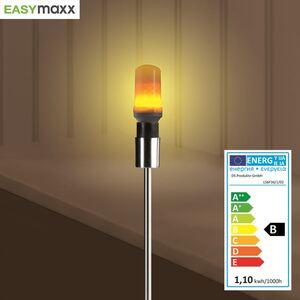 Easymaxx LED-Glühlampe mit Flammeneffekt 1W E14