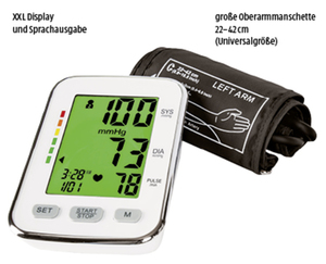 CURAmed Oberarm-Blutdruckmessgerät
