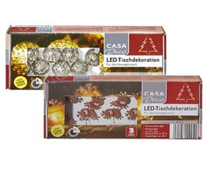 CASA Deco LED-Tischdekoration