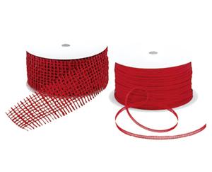 CASA Deco Weihnachts-Geschenkband