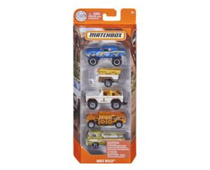 MATTEL MATCHBOX®  Autos, 5er-Set
